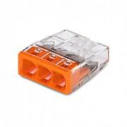 WAGO ZŁĄCZKA 3x2.5mm DRUT 2273-203