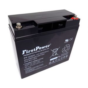 AKUMULATOR ŻELOWY 12V 22Ah FIRST POWER