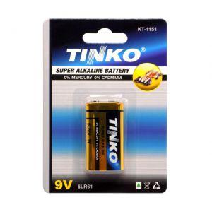 BATERIA 9V 6LR61 TINKO BLISTER
