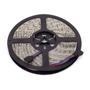 TAŚMA LED 5050 RGB IP65 300LED 14,4W ...
