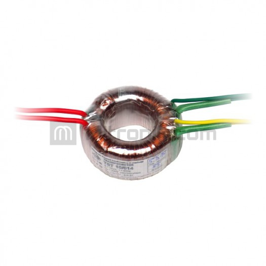 TRANSFORMATOR TST 10/014 2x17V-2x0.30A INDEL