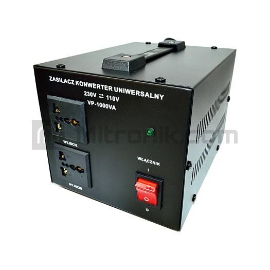 KONWERTER NAPIĘCIA VP-1000 230V-110V 1000VA VOLT