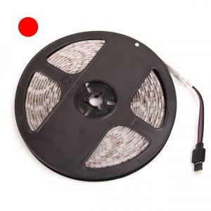 TAŚMA LED 5050 CZERWONA IP65 300 LED (op.5m) JLM