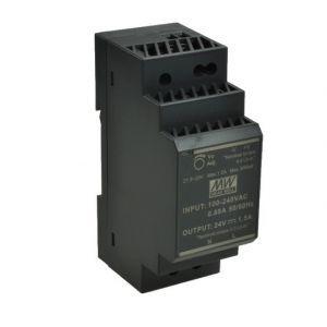 ZASILACZ NA SZYNĘ DIN 24V/30W/1,5A HDR-30-24