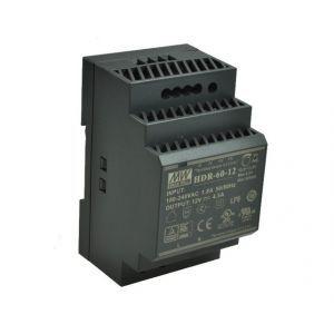 ZASILACZ NA SZYNĘ DIN 12V/60W/5A HDR-60-12