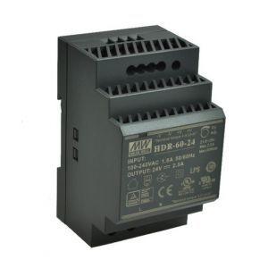 ZASILACZ NA SZYNĘ DIN 24V/60W/2,5A HDR-60-24